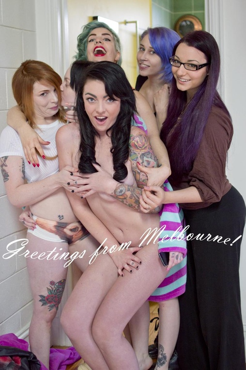 Suicide girls countessa naked james