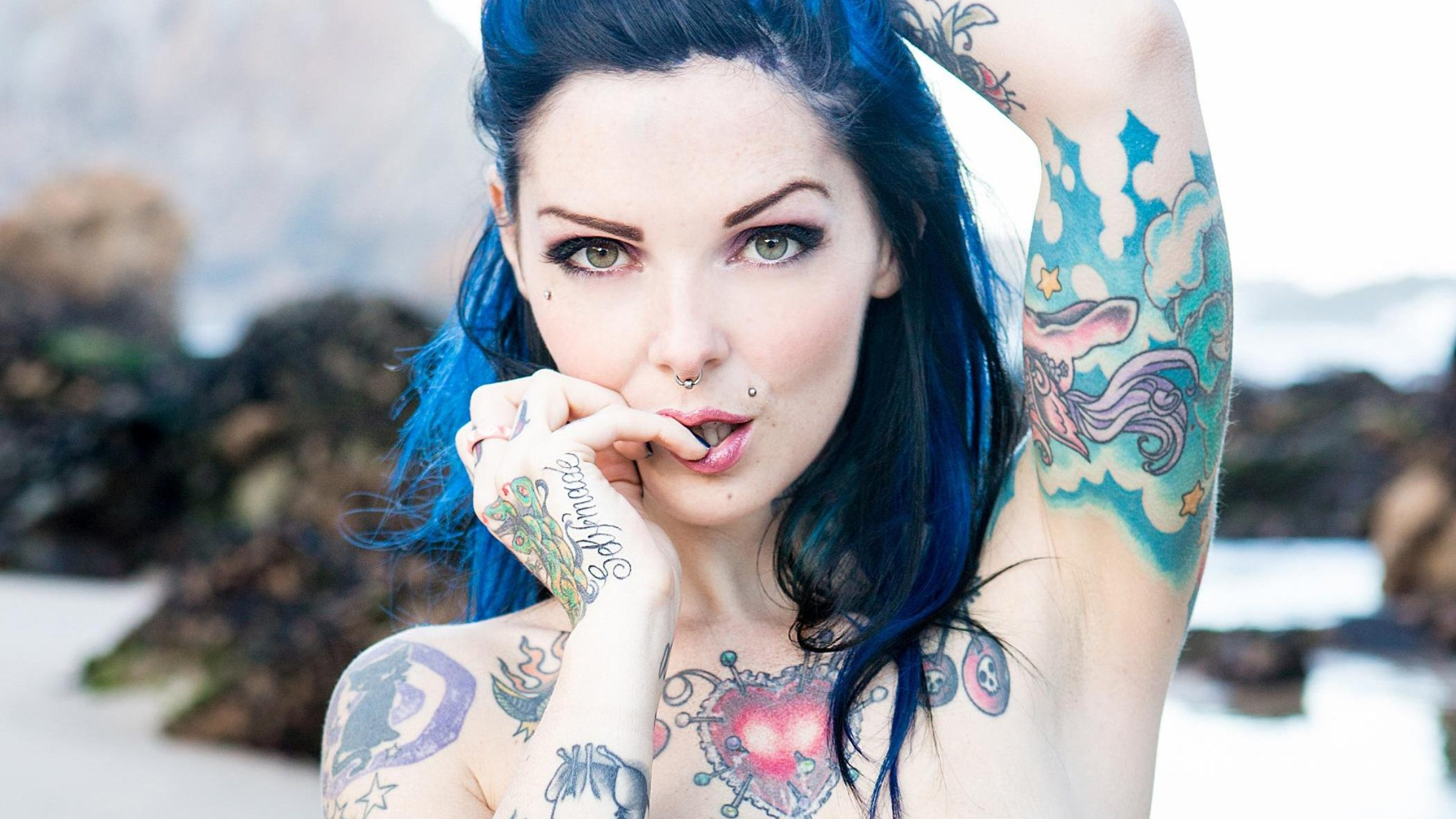 Riae Suicide  - Rising From suicidegirls @riae guiche,asstounding,wonderful,smores,uber