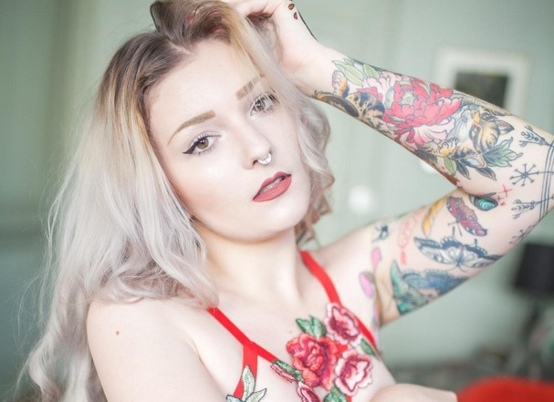 Rouge suicide girls sexy pic words... You