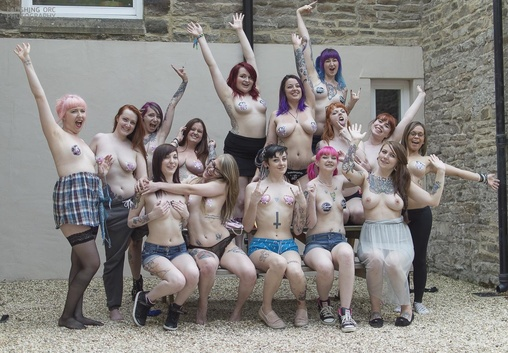 Criticism write Suicide girls group nude pic