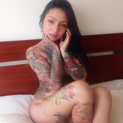 Remarkable phrase Latina with tattoos xxx consider