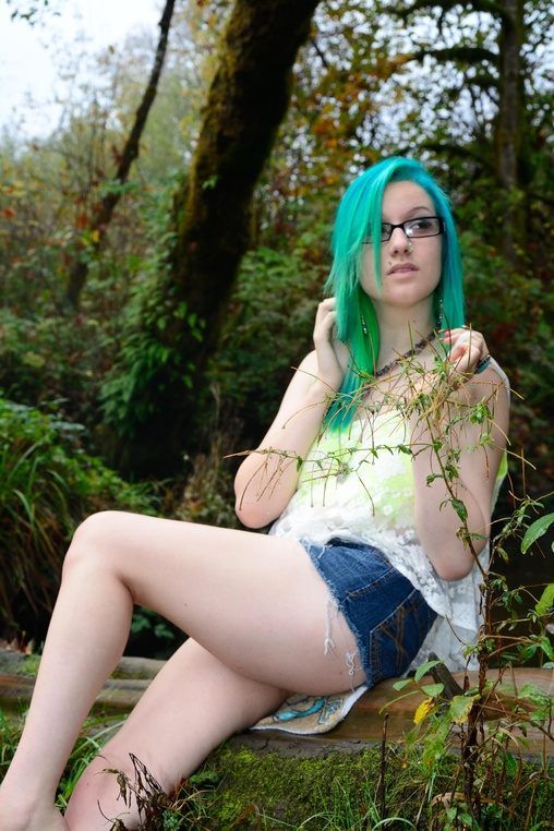 Hottest naked girls in the woods #7