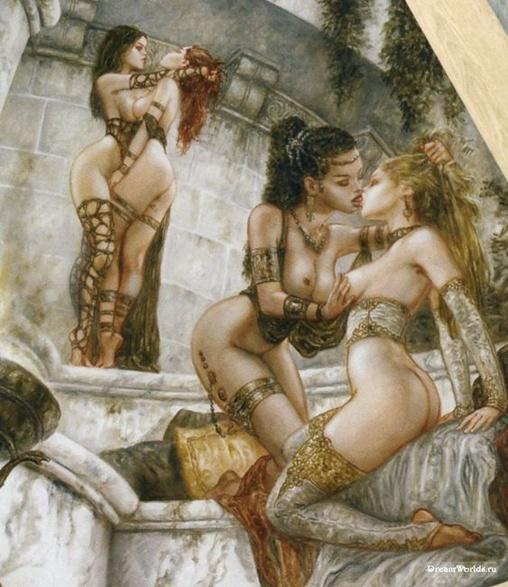 Сексуальные фантазии лесби