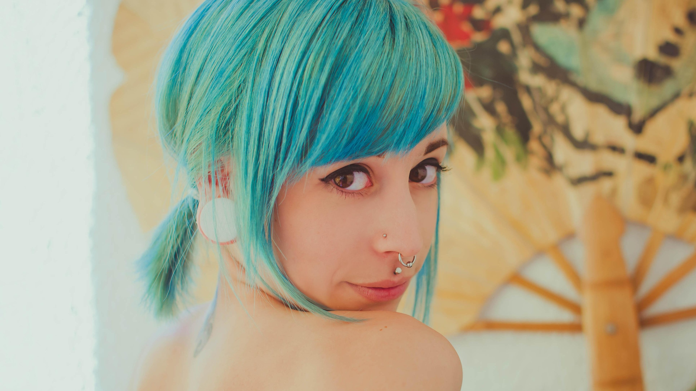 Ada Frost  - Waiting For suicidegirls @yotsuba creepy,yotsuba,summer,medusa,bodymod