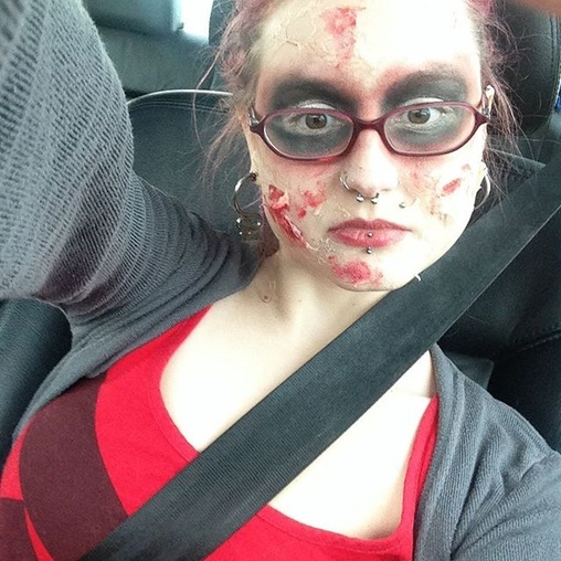 Happy 25th of halloween here is my lady deadpool before for Dead pool show box