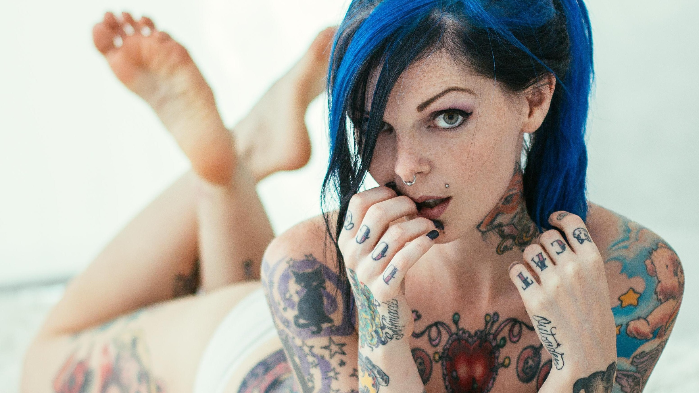 Riae Suicide  - White Oleand suicidegirls @riae love,gossip,perfection,siren,goddess