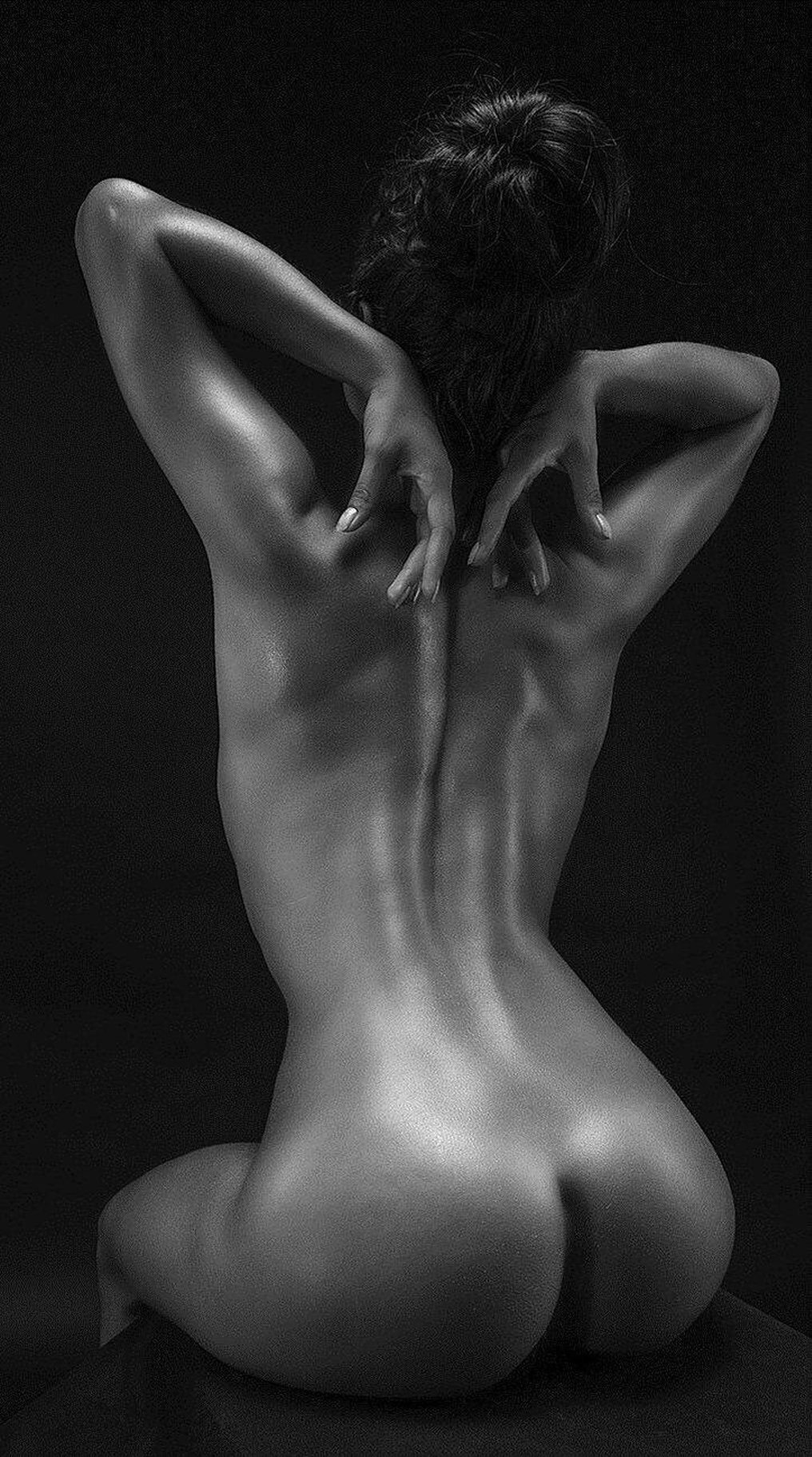 Nsfw stunning black and white fine
